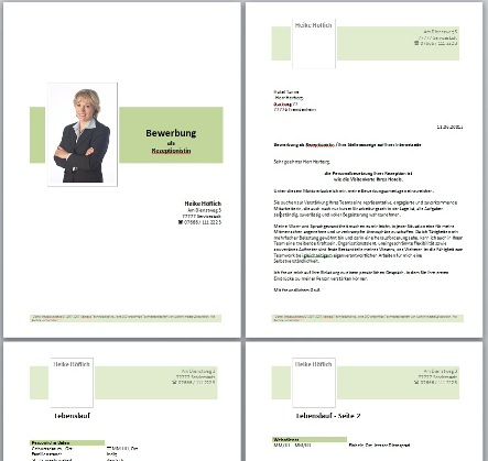 Bewerbung Design Vorlagen Chance Consulting Center